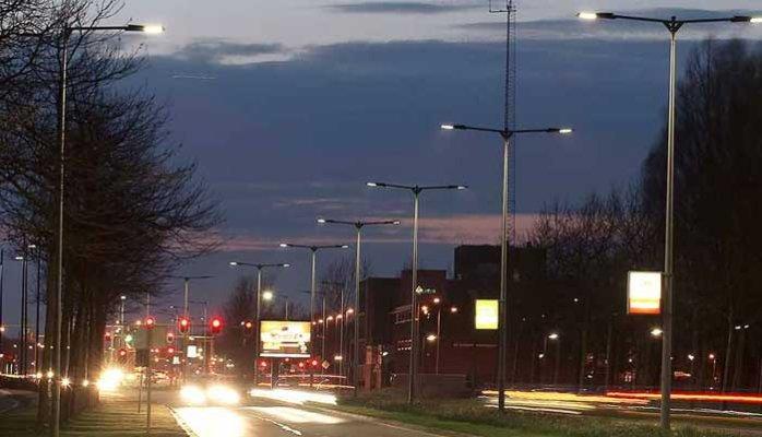 Đèn đường led 120W STRL Hodiled