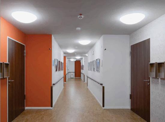 Đèn LED ốp trần cảm biến D LN09L 300/24W RAD SS Rạng đông