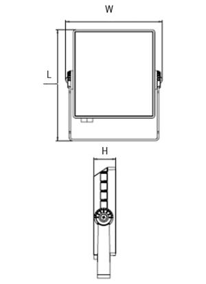 Đèn pha Led 10W NLF1103 Panasonic