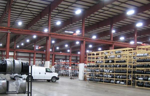 Đèn Led nhà xưởng chống thấm 150W DDB150 Duhal