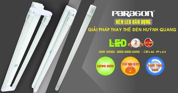 Bộ đèn led tube Paragon
