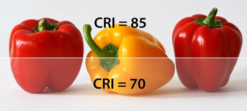 Chỉ số hoàn màu CRI là gì