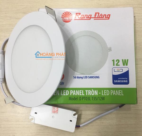 Đèn Led panel D PT03L 135/12W Rạng Đông