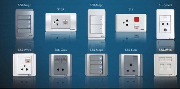 Các hãng thiết bị điện nổi tiếng nhất hiện nay