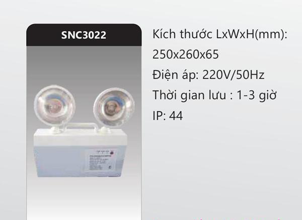 Đèn sạc khẩn cấp SNC3022 Duhal