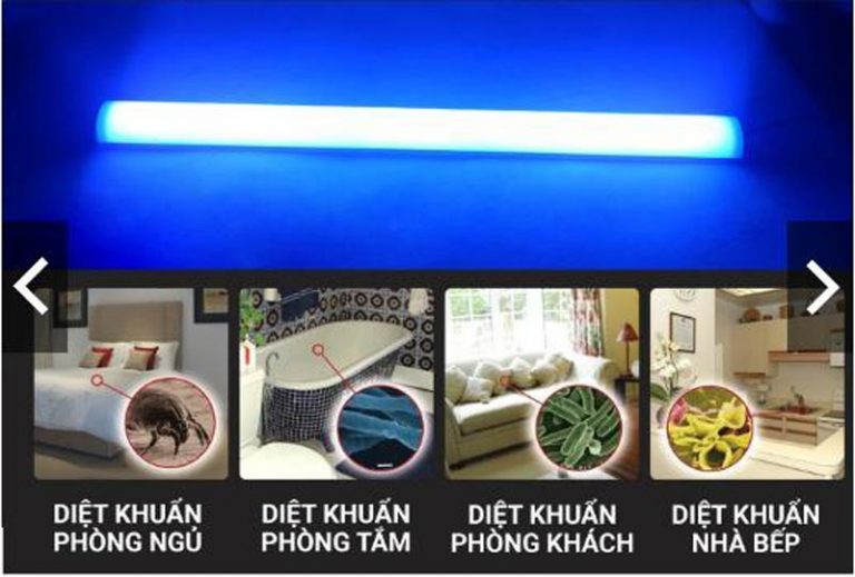 Đèn UV diệt khuẩn có tác dụng gì