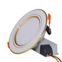 Đèn Led âm trần đổi màu D AT08L ĐM 110/9W Rạng đông