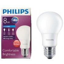 Bóng đèn Lebbulb 8W E27 6500K/3000K 230V A60 Philips