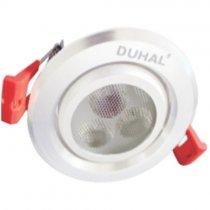 Đèn Led âm trần chiếu điểm 3W DFA203 Duhal