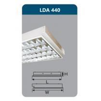 Máng đèn Led T8 4x18W LDA440 Duhal