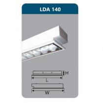 Máng đèn Led T8 1x18W LDA140 Duhal