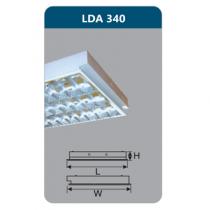 Máng đèn Led T8 3x18W LDA340 Duhal