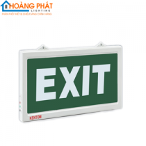 Đèn exit 1 mặt KT610 Kentom