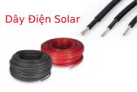 Bảng giá dây điện DC Solar năng lượng mặt trời