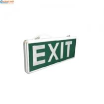 Đèn exit thoát hiểm 2W 6 LED 2 mặt ĐQ EX02 SC05L Điện Quang